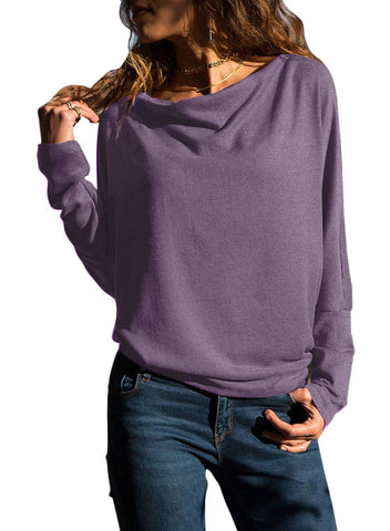 Image of Long Sleeve Casual T Shirt