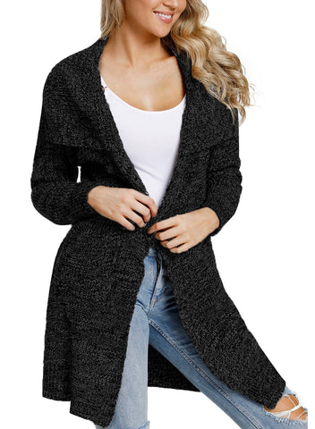 Image of Long sleeve Cardigan with Pockets