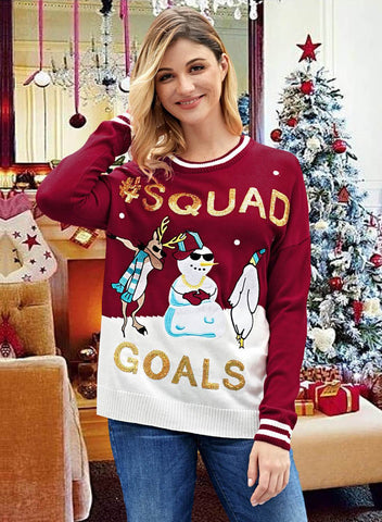 2018 Best Seller Knit Ugly Christmas Sweaters