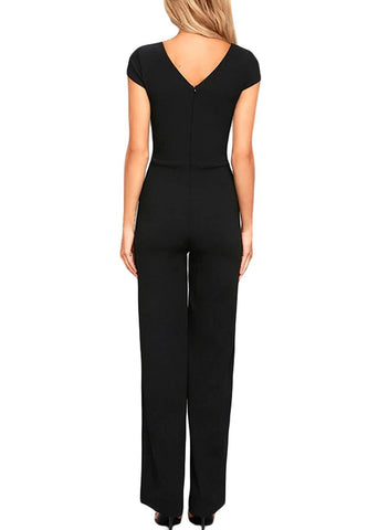 Jumpsuits High Waist Wide Leg Long Romper Pants