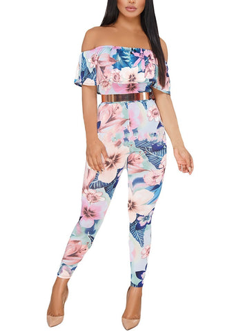 Image of High Waist Long Bodycon Jumpsuits