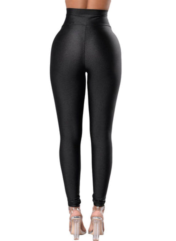 Image of High Rise Tight Leggings with Waist Cincher