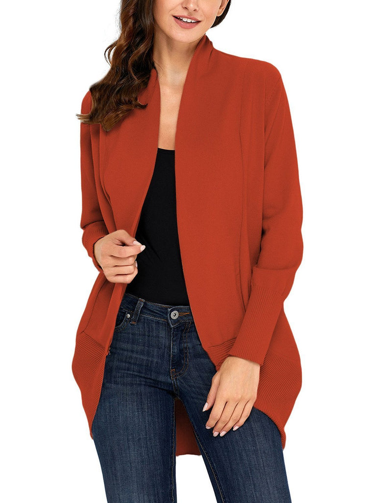 Soft Long Sleeve Open Cardigan