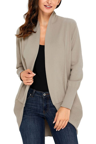 Image of Soft Long Sleeve Open Cardigan