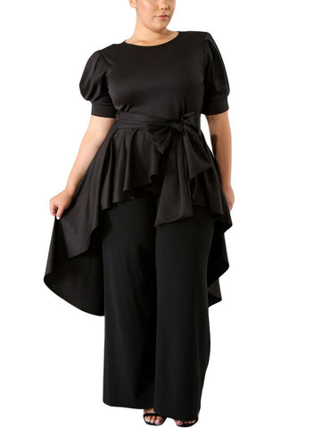 Image of Puff Long Tail Plus Size Top