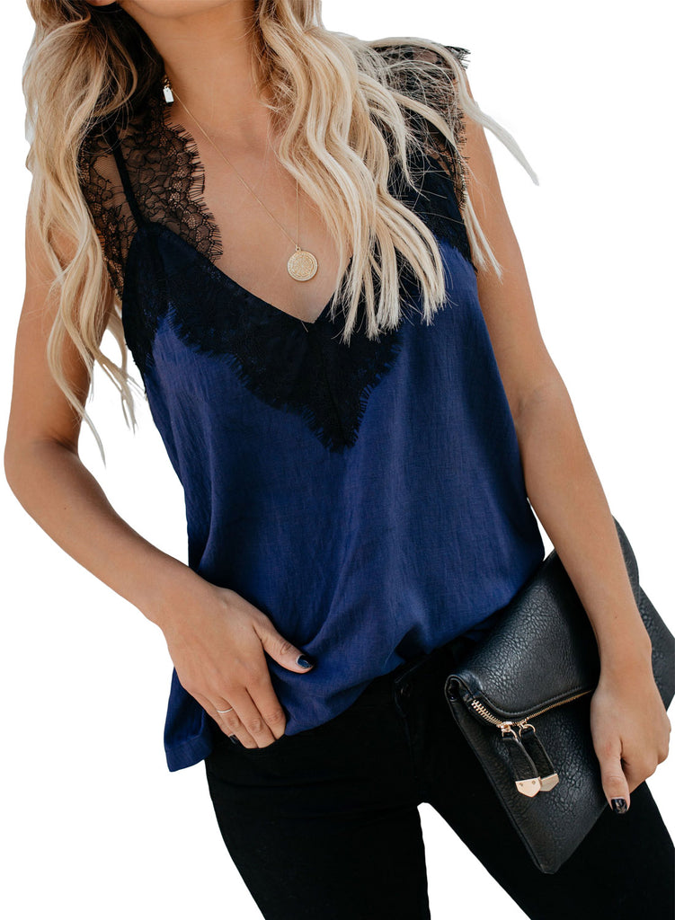 One More Night Lace Cami Tank(LC251886-5-3)