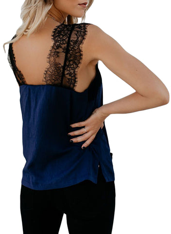 Image of One More Night Lace Cami Tank(LC251886-5-2)