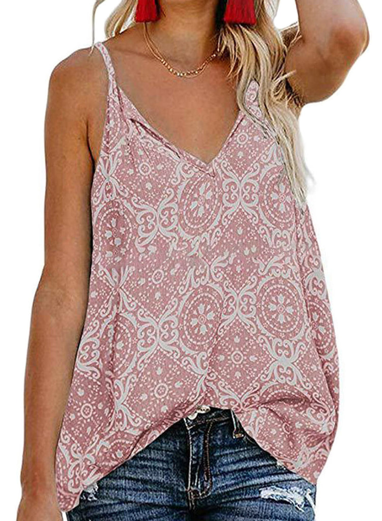 Spaghetti-Strap Holiday Camis(LC252037-10-1)