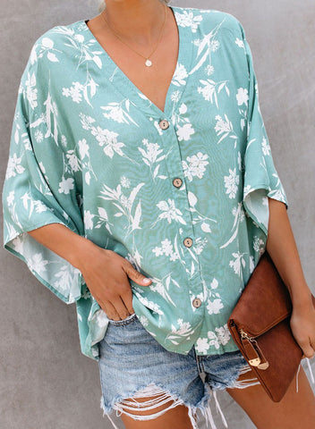 Image of west-coaster-floral-button-down-top(LC252353-4-1)