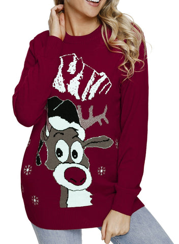 Image of Christmas Crew Neck Ugly Sweater