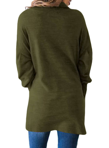 Image of Loose Fit Tunic Sweater