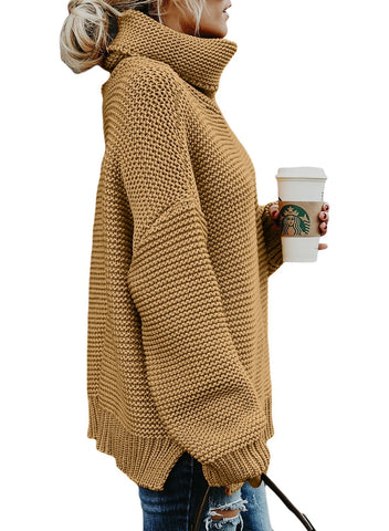 Cozy Long Sleeve Turtleneck Sweater