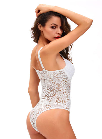 Sexy Push up Lace Teddy(LC32058-1-2)