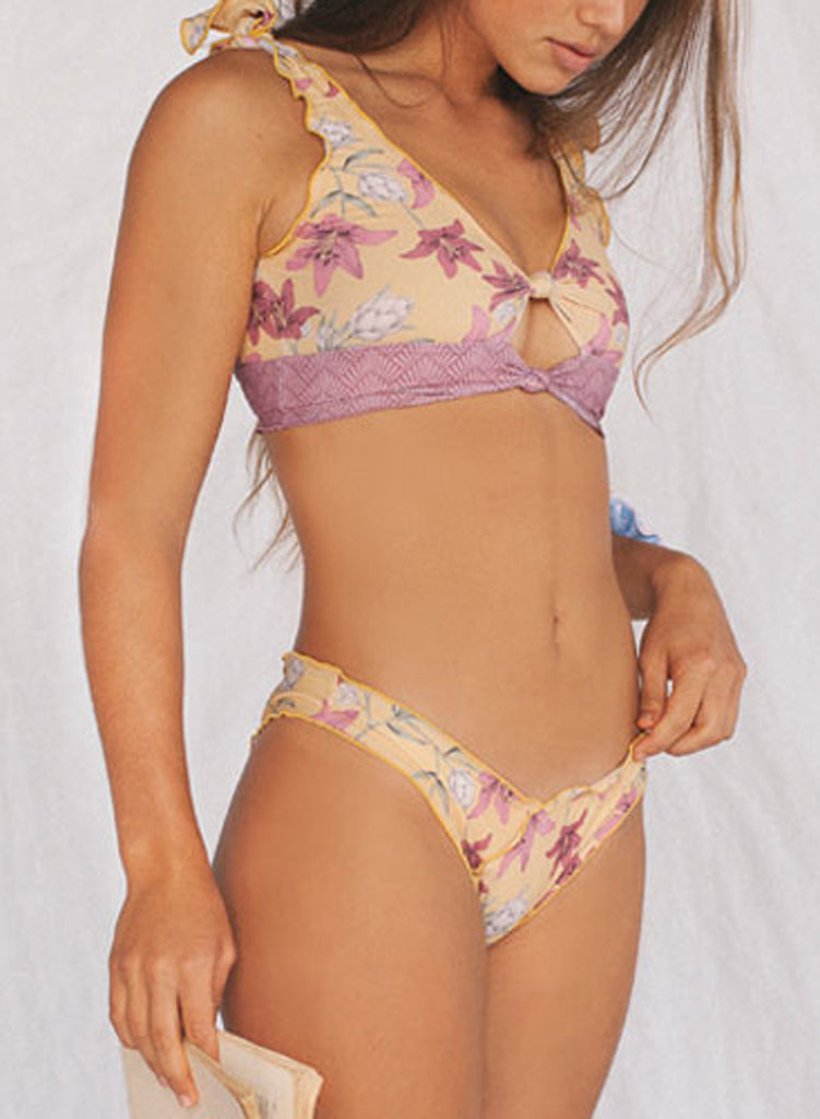 Printing two-piece swimsuit(LC411663-7-1)