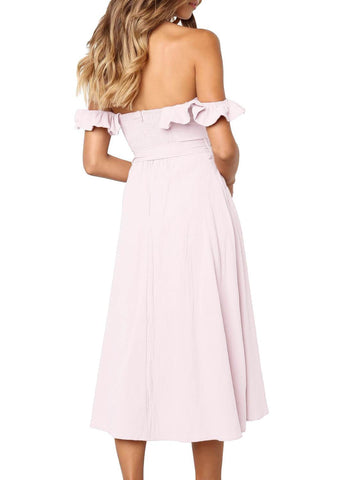 Strapless Elegant Dress (LC611018-10-2)
