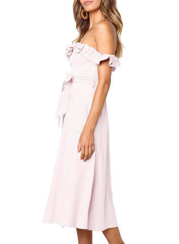 Strapless Elegant Dress (LC611018-10-3)