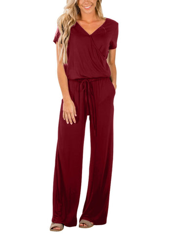 Casual Lunch Date Jumpsuit (LC64388-3-1)