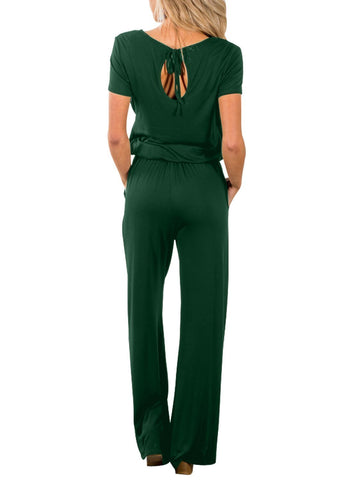 Casual Lunch Date Jumpsuit (LC64388-9-2)