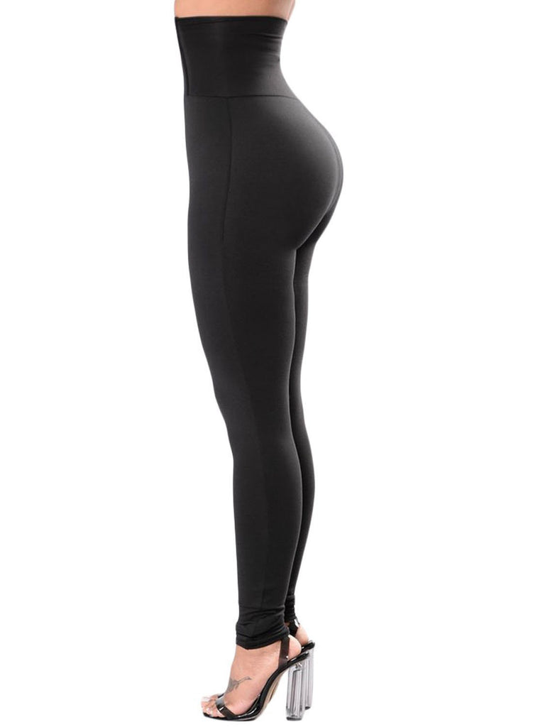 Corset Belt High Waist Leggings
