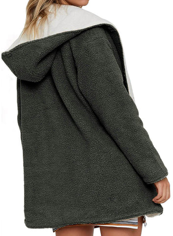 Lam Wool Reversible Coat