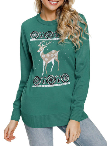 Image of Reindeer Ugly Christmas Sweater