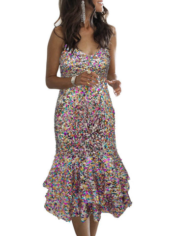 Image of Sequin Party Dress