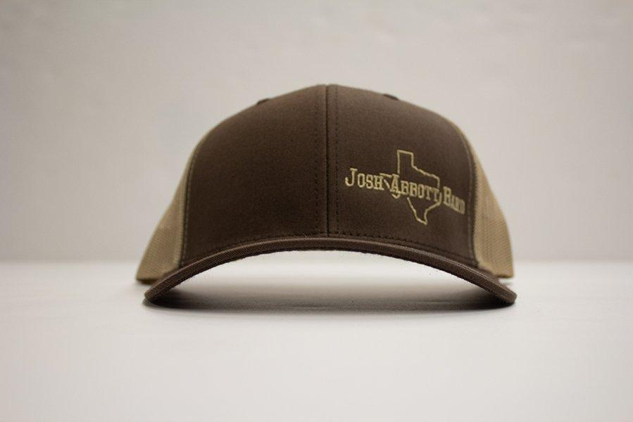 JAB Brown Texas Logo Hat