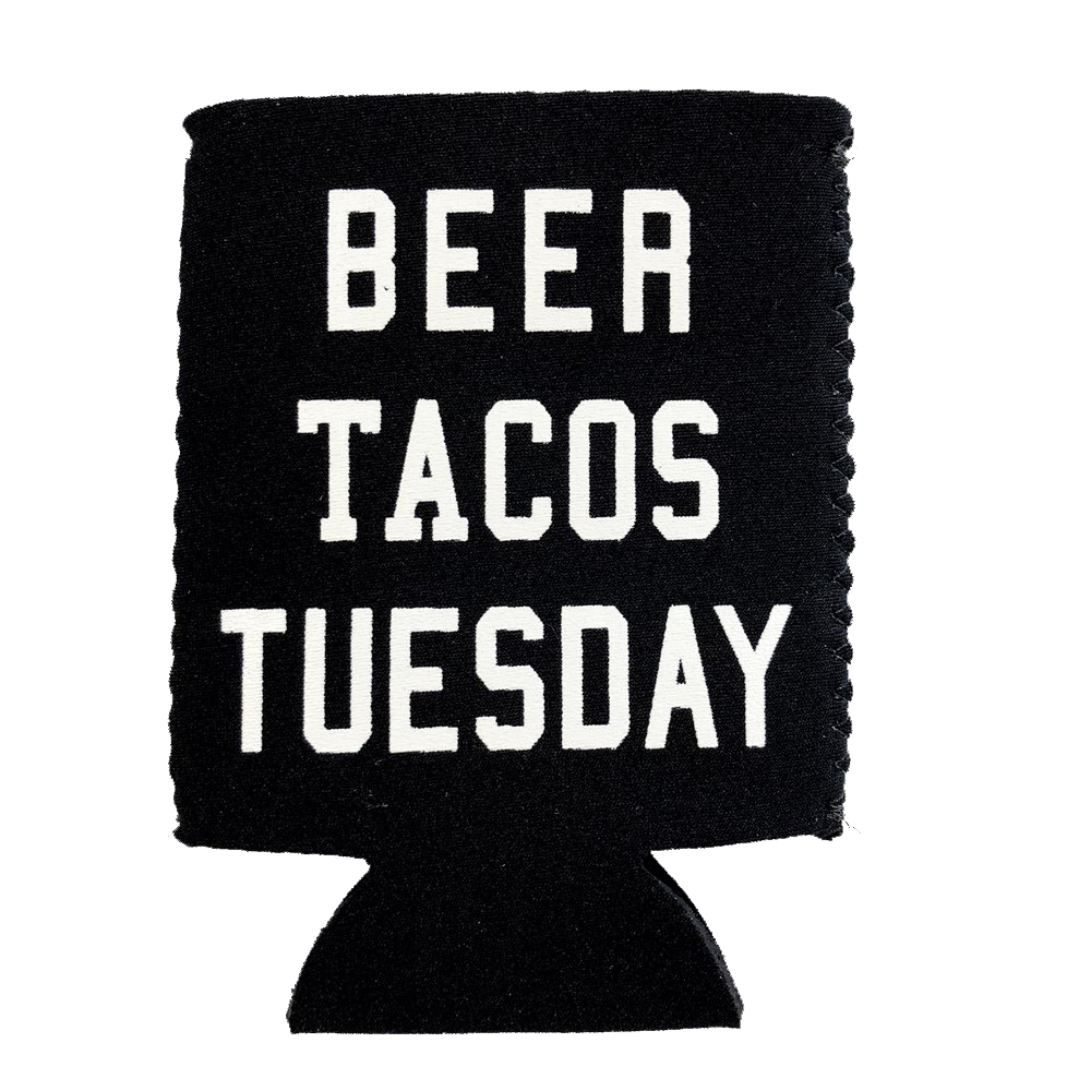 JAB Beer Tacos Tuesday Koozie