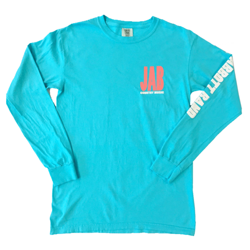 JAB Aqua & Peach Long Sleeve T-shirt