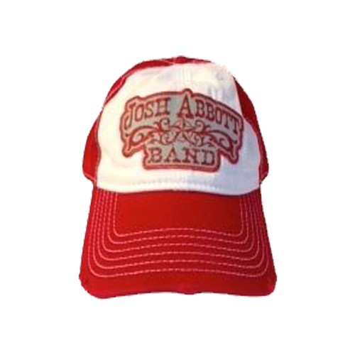 JAB Red & White Logo Hat