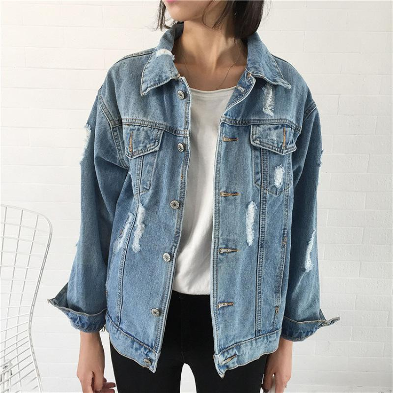 19ss Spring Women Denim Jacket Basic Coat