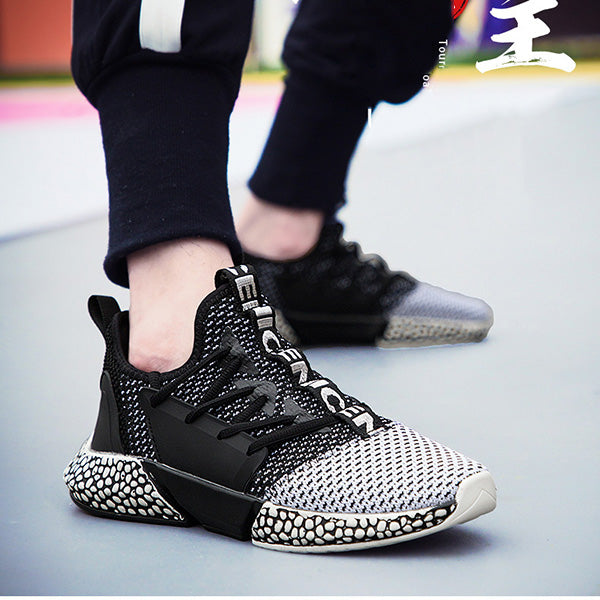 Breathable Flying Woven Sports Men's Shoes