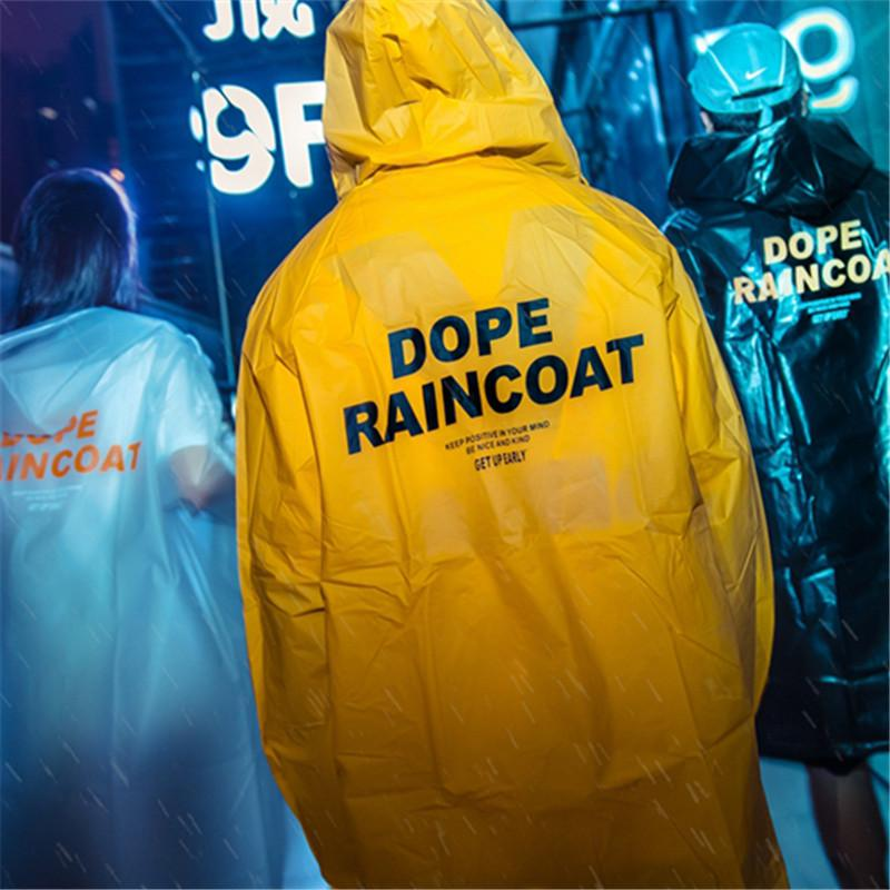 Fashion Rain Coat Waterproof Windbreaker Jacket
