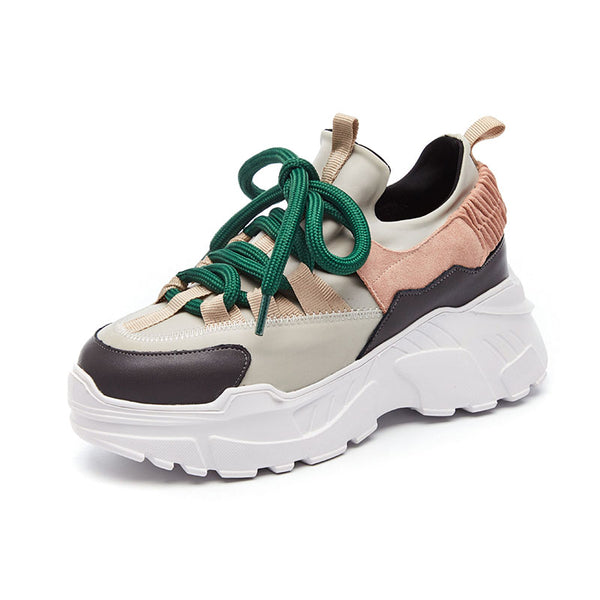 Platform Outdoor Running Sneakers