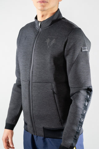 FELPA HELLAS FULL ZIP DARK GREY
