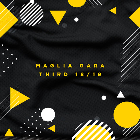 MAGLIE GARA THIRD MATCH READY STAGIONE 2018/19