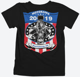 MOTORAMA EVENTS AND SHOWS 2019 T-SHIRT