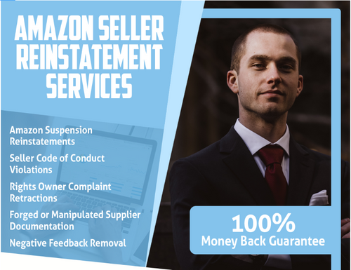 24 Hour Next Day - Guaranteed Amazon Seller Reinstatement Package