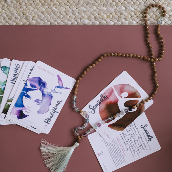8 Limbs of Yoga Practice Cards - ineffably