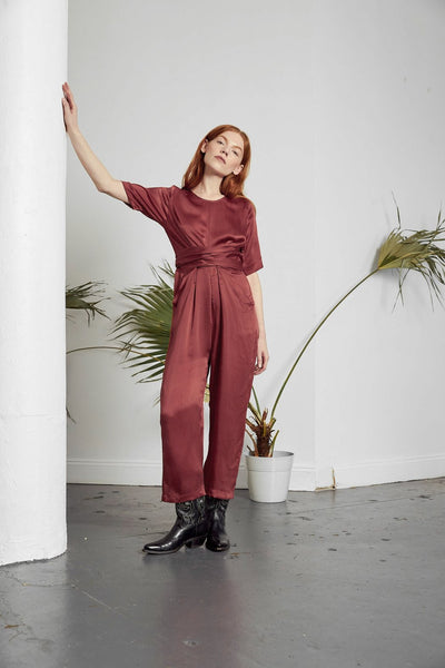 Paris Wrap Jumpsuit - ineffably