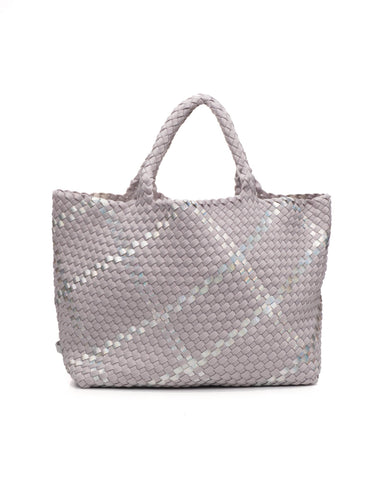 St. Barth's Large Tote in Oyster - ineffably