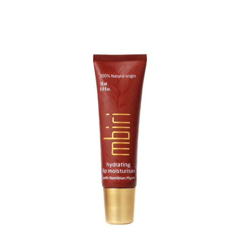 a tube of Mbiri Lip Moisturiser