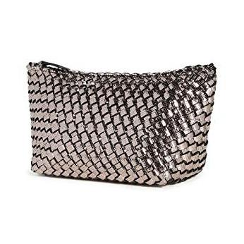 Medium Portofino Clutch-Titanium - ineffably