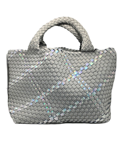 St. Barth's Small Tote in Oyster - ineffably