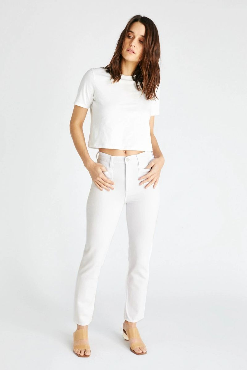 Finn Straight Jean in White Dawn - ineffably