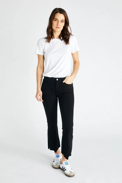 Micki Crop Jean in Black Dawn - ineffably