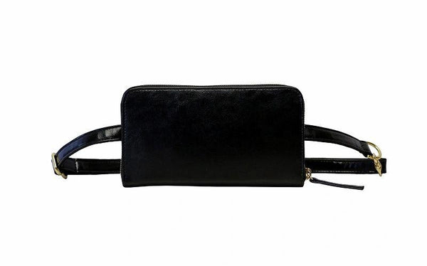 HFS Convertible Wallet Black - ineffably