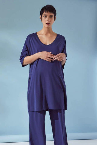Oversized Dress- Navy - ineffably