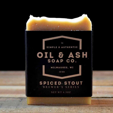 Spiced Stout Bar Soap - ineffably