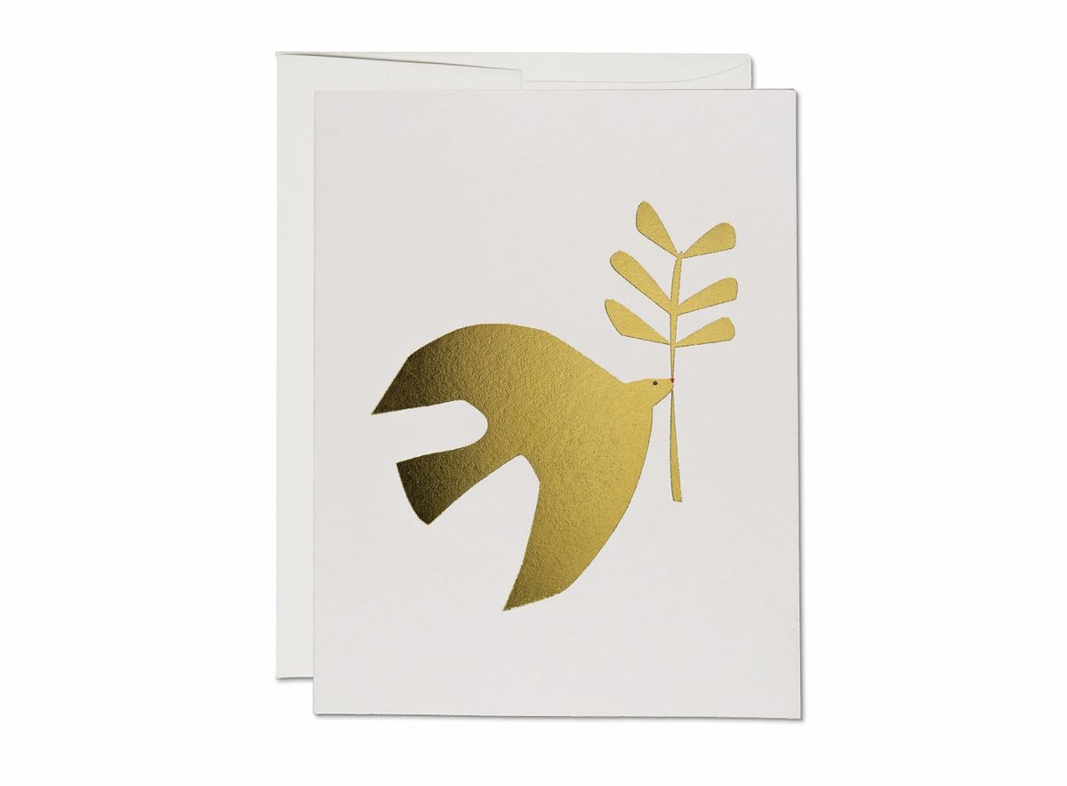 Peace Dove Card - ineffably